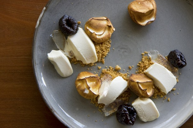 Moon Park doesn't make a big about its vegetarian menu - but you should, it's fantastic. The desserts - like the ...