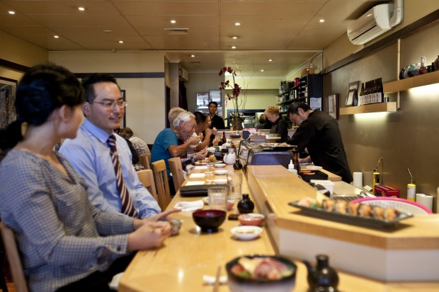 if you love your sushi and sashimi, take a seat front and centre at the bar and order the omakase at Shira Nui.