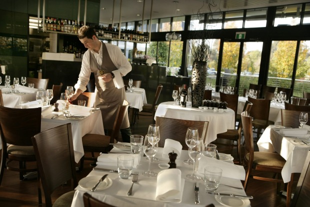 Sette Bello Italian restaurant is housed in a gorgeous glass box.