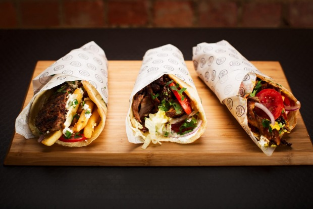 Souvlaki at Meat Me in the Middle.