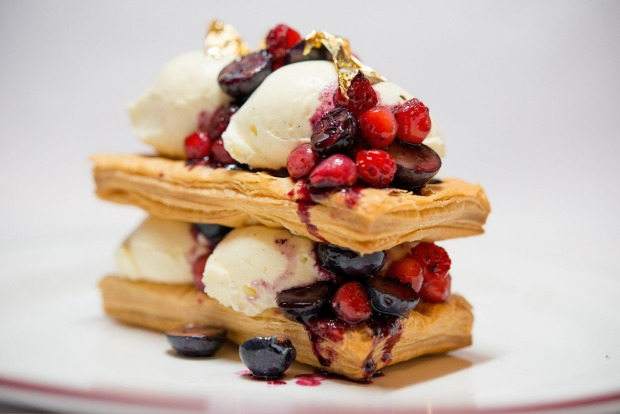 Stacks-on: Millefeuille at Entrecote.