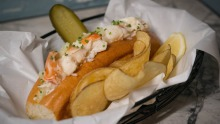 Go-to dish: Connecticut lobster roll.