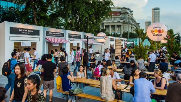 Highlight: The festival's STREAT event sees legit hawker stalls mix with restaurant pop-ups.