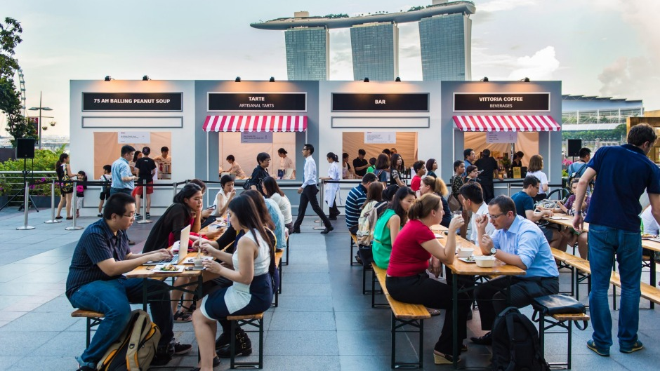 Marina Bay Sands was an Instagrammable backdrop to the STREAT event.