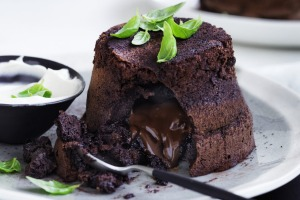 Get fresh with a new way of using basil (in chocolate puddings!)
