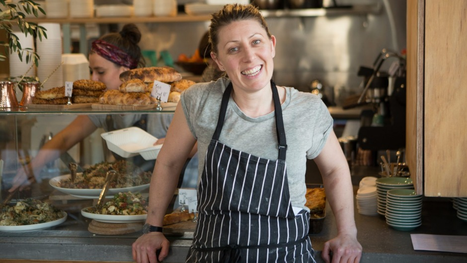 Middle Eastern specialist Kirsty Chiaplias at Babajan.
