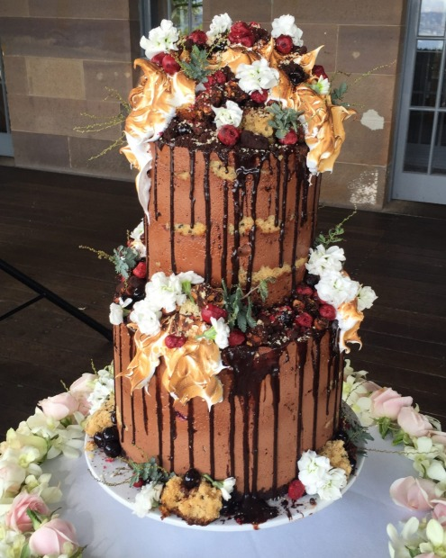 The Snickers-like Karl cake by Andy Bowdy Pastry is named after a friend who was getting married (and in fact, was made ...
