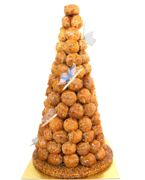 Adriano Zumbo once baked a 250-ball croquembouche for a wedding. Smaller versions are popular options for the big day.