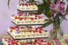 The raspberry and lychee cake was initially made by Black Star Pastry for a couple's big day, too. It was created as a ...
