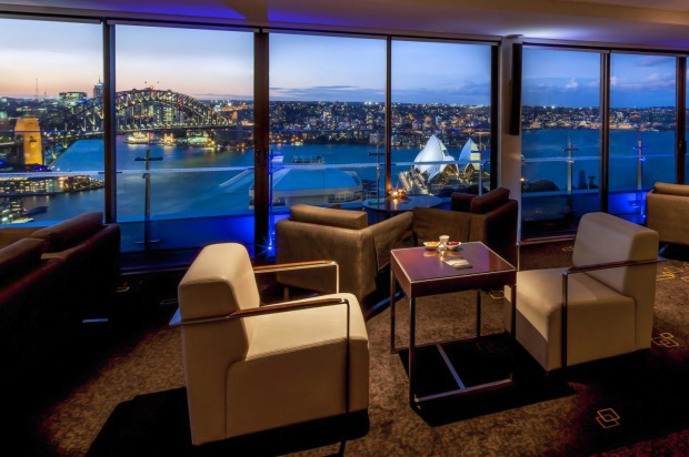 You don't have to be a tourist to enjoy the view from the Intercontinental Sydney Supper Club.