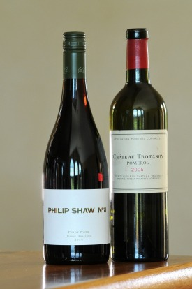 """The most memorable wine I've had lately was the Chateau Trotanoy Pomerol,"" says Shaw. ""I'm reluctant to plug my own ..."
