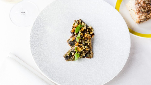 Butterflied sardines are played against the sweetness of muscatels, fennel and pinenuts at Otto.