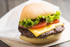 The Shake Shack burger - loved by chefs (and diners) from around the world.