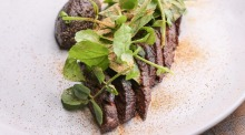 Making the most of good produce at The Garden State Hotel: Wagyu skirt steak.