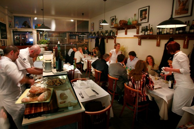 Osteria La Passione in Richmond.