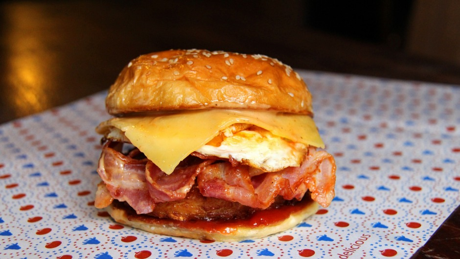 Brekkie burgers are as good for dads as they are for hangovers.