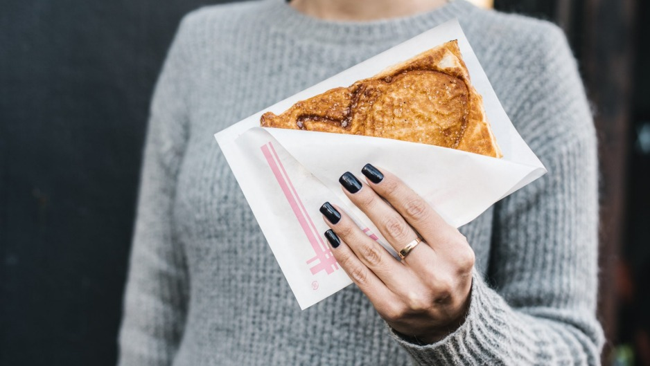 Salaryman in Sydney quietly launched Asian-inspired Sunday breakfasts, including these taiyaki.