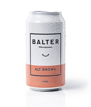 Balter beer also owes its success to the minimalist packaging.