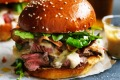 Adam Liaw's ultimate steak sandwich.
