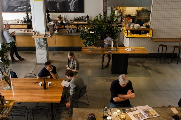 The achingly cool Paramount Coffee Project, Surry Hills.