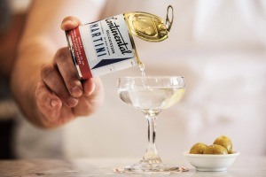 Continental Deli's Mar-tinny (martini in a can).