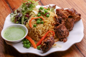 The NSK Classic (lamb with rice).