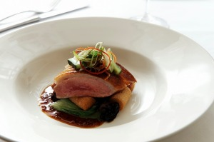 Ezard Chinese Style Duck Breast dish