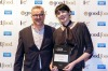Michael Ryan and Jeanette Henderson from Provenance in Beechworth, winner of the Regional Wine List of the Year Award.