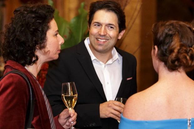 Attica owner-chef Ben Shewry arrives at the Good Food Guide Awards.