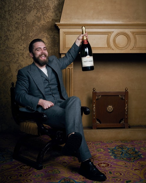 Champagne Taittinger Sommelier of the Year Jordan Marr, from Oter.
