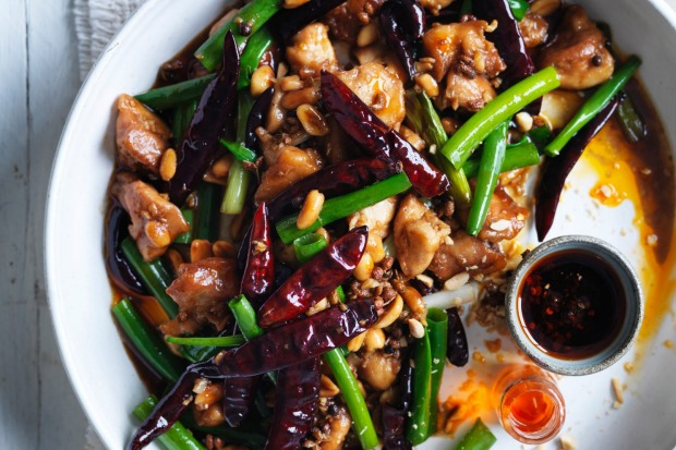 Neil Perry's kung pao chicken packs a punch <a ...