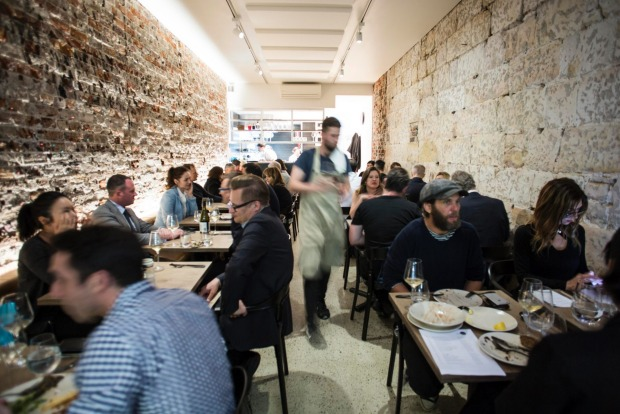 Saint Peter in Paddington offers an entirely seafood-based menu.