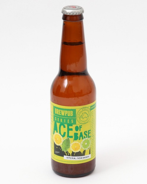 Feral Brewing Company's Ace of Base has citrus notes.