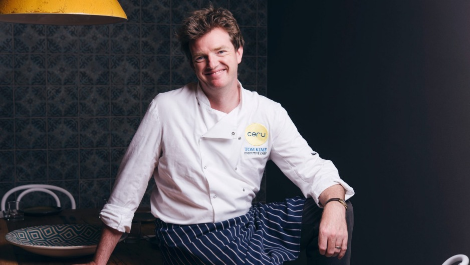 Tom Kime is heading back to the kitchen after the closure of Ceru.