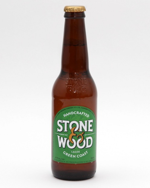 Stone & Wood's Green Coast lager.