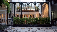 Starry nights: Bangkok's Gaggan restaurant, in a two-storey colonial-style timber house.