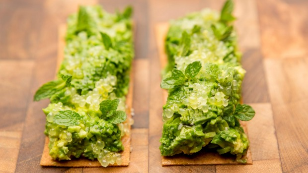 15 dishes not to serve vegetarians avocado with native finger lime might feature on the vegetarian degustation at attica melbourne forumfinder Choice Image