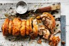 Adam Liaw scored again with his keep-it-simple approach to a pork belly porchetta with fennel, chilli and sage <a ...