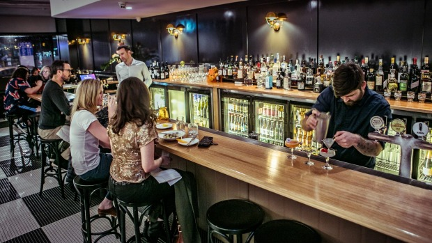 Worth the wait: Bouvier Bar was 18 years in the making.