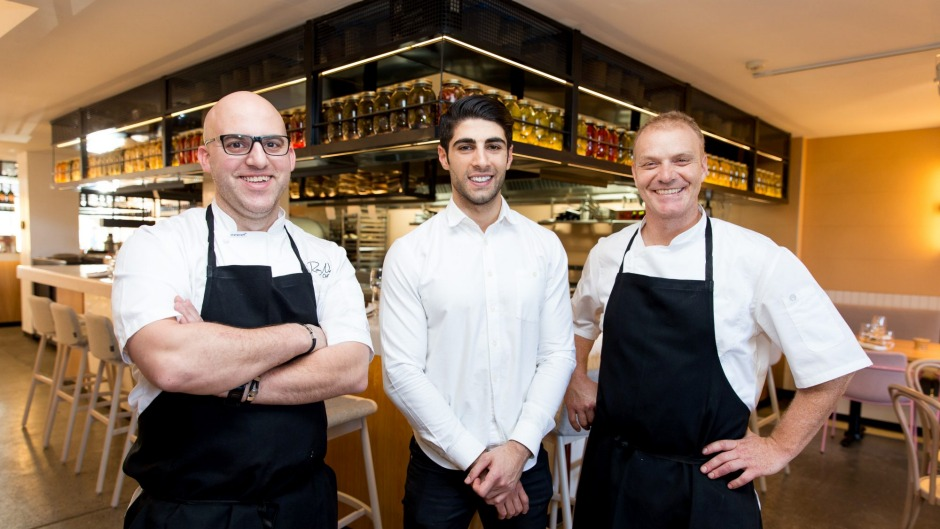 The team behind Nour in Surry Hills.