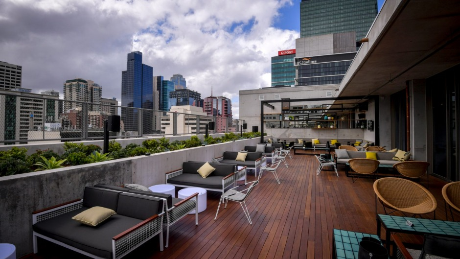 Melbourne's hot new rooftop bar.