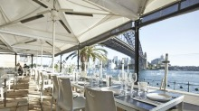 Ripples Milsons Point Restaurant outdoor eating area