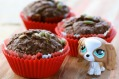 Trying to be healthy but still wanting a crowd-pleaser, than this is the perfect chocolate muffin recipe for you.