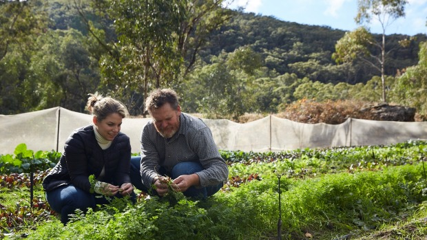 Danielle Alvarez will be working closely with farmers such Fabrice Rolando. His wide-ranging produce includes shepherd's ...