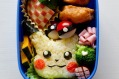 Saori Inokuchi's bento box from a class in Tokyo on preparing school lunches.