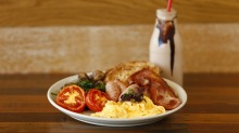 Kickstart your day with the Big Breakie from this new Revesby cafe.