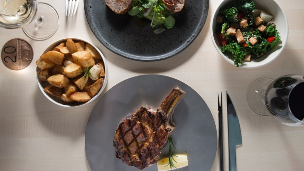 Dry-aged beef is the menu hero at A Hereford Beefstouw, Melbourne.