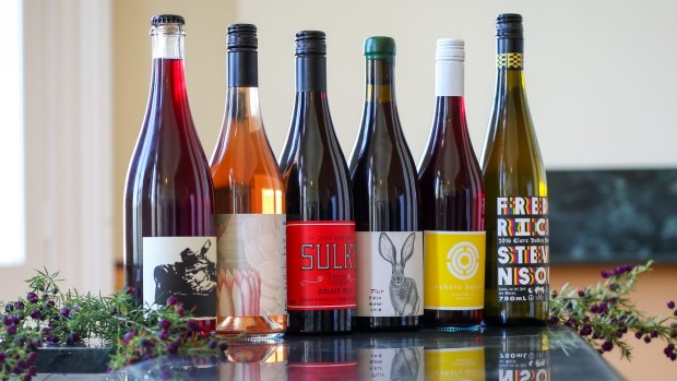 A line-up of Australian wines made with low intervention.