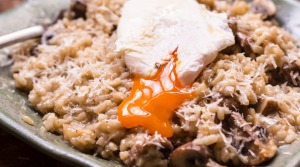 Frank Camorra's autumn  risotto.