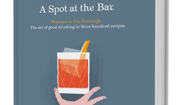 New cocktail book, <i>A Spot at the Bar</i>.
